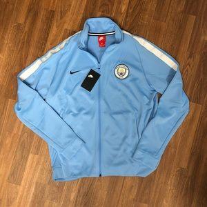 🆕🔥 Nike Manchester City FC Men's Track Jacket L